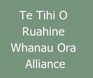 Te Tihi o Ruahine Whanau Ora Alliance